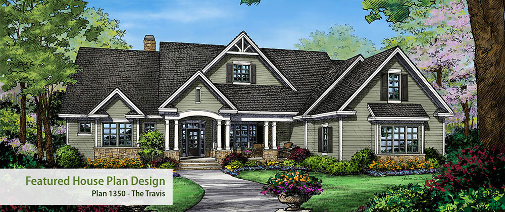 House plan magazines home plan design books products for French country ranch home plans